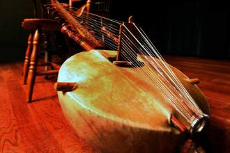 The Kora Player from the Bronx
