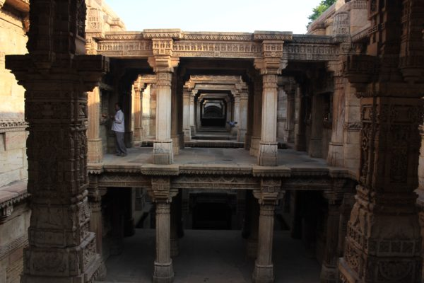 Adalaj Stepwell. November 2014
